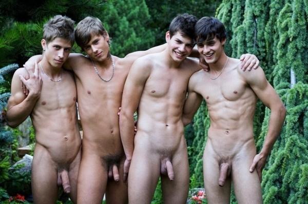 Фото голых молодых мужиков