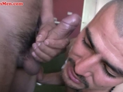 Hot gay latino guys suck big cocks and bust
