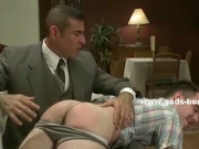Strong gay men in bondage fucking romp
