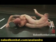 Nude Fight, Submission and Hard Male Combat