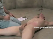 Policeman in perverted hard bondage sex