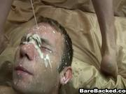 Cum Fart Leaking Creampie Jizm On My Face