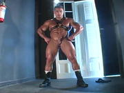 Leather Stud makes you worship his body