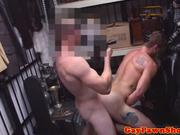 Pawnshop dudes nail amateur dude hard
