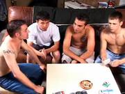 There are no losers in gay strip poker :P