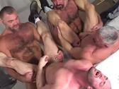 Big muscle bears suck dick and slam ass