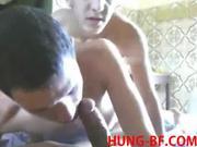 Hot tw-nk Bareback Threesome