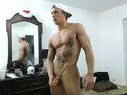 muscular college dude with a huge cock- more
