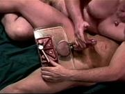 CBT Crushing my bottom's balls in a vise
