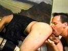 biker gets his cock ..