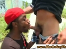 Amateur black guy su..
