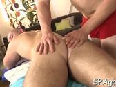 Pleasuring a lusty gay stud