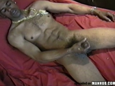 Big dick stroking