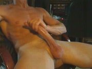 Releasing some stress by stroking my cock