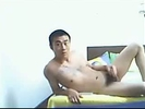 Chinese guy masturba..