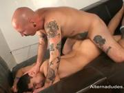 Tatted Pig Fucks Skater Guy