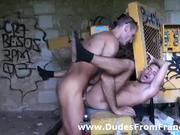 Two sexy french gay dudes in hot hard assfuck