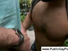 Two horny guys in a ..