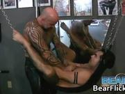 BDSM hardcore gay bear porn with Ender