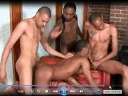 5 Black Dude Orgy