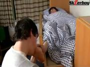 Sk8erb-y sleeping feet worship 2