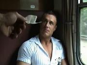 Gay For Pay Public Train Cruising Gay Porno