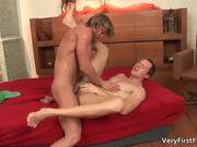 Horny cutie Denis gets fucked