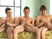 Great 3 way circle jerk
