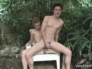 cute Devon Pryce fucks gay