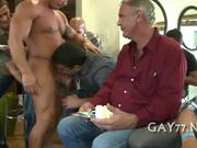 Fucking him at big party