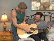 Gavin Waters and Parker London play a tune