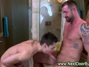 Gay muscle cock sucking jocks
