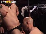 Shaved Head Stud Gets A Facial