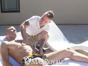 ManRoyale Hot Steamy Sex With Two Hunks