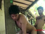 Birthday sex for latino friend