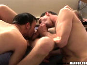 Hot threesome action with our favorite, Trey!