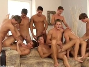 Part2 Orgy with crazy ass fucking and facial