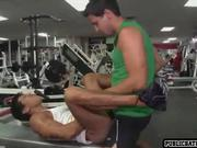 Friends decide to fuck at gym