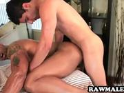 Muscular hunk gets fucked hard