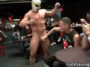 Hot cock sucking party sausgage