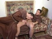 Bare Monks Gay Porn