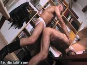 Manuel Roko and Pau Kbron horny hard