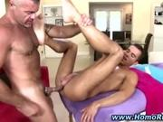 Straight guy gets anal from hunk