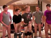 Powerful jocks rubbing their cocks