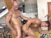 Hammering a gay stud