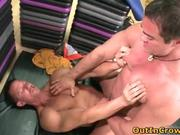 Hot gay dudes suck hard cock