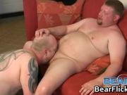 Bubba Michaels and Haus Cub sucking