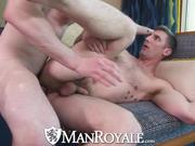 ManRoyale Big Dick Hunks Have Fuck Party