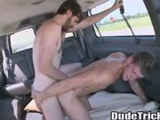 Cock doggystyle fucking a stud\'s ass