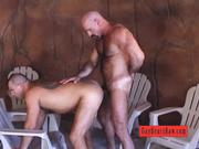 Ass pumping Raw Bears free gay porn